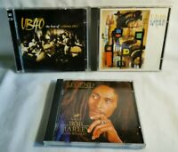 UB40 bundle & Bob Marley Legend CD's UB40 The Best Of, UB40 Labour Of Love 2
