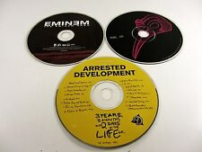 3 Loose CDs - Arrested Development, Wyclef Jean, Eminem