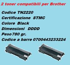 DUE pezzi toner compatibili con stampanti  Brother MFC-7860 DW