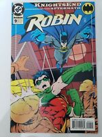 ROBIN #9 (1994) DC COMICS KNIGHTSEND AFTERMATH NIGHTWING! BRUCE WAYNE BATMAN! NM