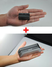 MSRX6 & MiniDX3 Bundle Magnetic Stripe Credit Card Reader Writer Encoder