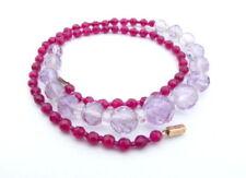 Ruby Beaded Fine Necklaces & Pendants