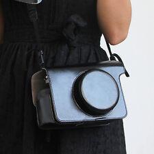 Fashion Leather Camera Case Bag For Fujifilm Polaroid Instax W300 WIDE 300 Bags.