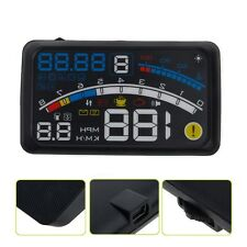 "4E 5.5"" OBD2 II Universal Car GPS HUD Head Up Display Overspeed Warning System"