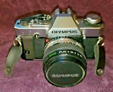 Olympus Omg 35mm film camera with accessories