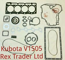 Kubota V1505/F3890 gasket kit complete (Top and Bottom )with metal sheet gasket