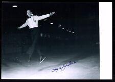 Hayes Alan Jenkins Original Signiert  Olympiasieger 1956 Eiskunstlauf +G 17776