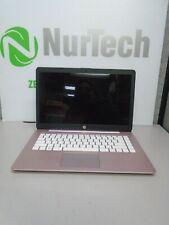 "New listing Hp Stream 14-cb163wm 14"" Celeron 1.1Ghz 4Gb/32Gb eMmc Linux Webcam Laptop No Ac"