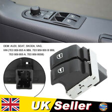 Electric Window Double Switch Driver Side Fit for VW Transporter T5 T6 Caravelle