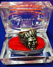 "INDIAN MOTORCYCLE MAN'S RING ~ ""CHIEF"" NICKLE PLATED~ SZ 12...SHIPS FREE!"