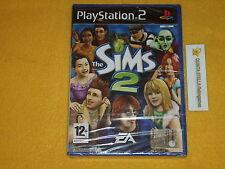 THE SIMS 2 PS2 SONY PLAYSTATION 2 VERSIONE ITALIANA NUOVO SIGILLATO