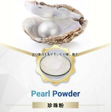 100% Pure Pearl Powder Edible, Serbuk Mutiara Whitening Detoxifying Anti-aging