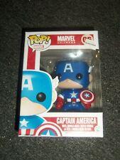 Funko Pop Marvel Universe #06 Captain America Figure NEW