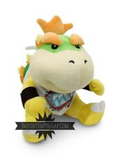 SUPER MARIO BROS. BOWSER JUNIOR PELUCHE pupazzo plush new 3ds koopa jr boo mini