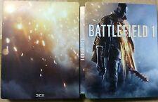 BATTLEFIELD 1 NEW STEELBOOK PS4 PC XBOX G2 SIZE STEELBOX METAL CASE