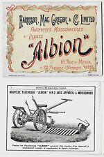 HARRISON MAC GREGOR ALBION catalog faucheuses falciatrici attrezzi agricoli raro