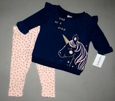 Baby girl clothes, Newborn, Carter's 2 piece FLEECE play set/NEW ARRIVAL!
