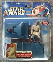 Star Wars Attack of the Clones Obi-Wan Kenobi Hasbro Figure