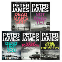 Peter James Roy Grace Series Collection 5 Books Set Dead Man's Footsteps NEW