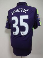 Manchester City #35 Jovetic 100% Original Jersey L 2014/15 CL Away MINT [R248]