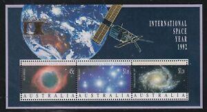 Australia SG MS1346 Scott 1260b MNH 1992 Intl Space Year S/S Columbian Expo