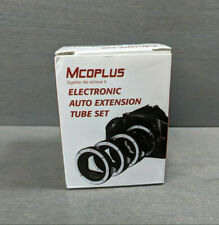 MCOPlus Electronic Auto Extension Tube Set 13mm, 21mm, 31mm Tubes
