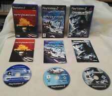 SPYHUNTER 1, 2 & Nowhere To Run (Sony Playstation 2 bundle)