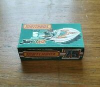 MATCHBOX SUPERFAST NO.5b SEAFIRE BOAT CUSTOM REPLACEMENT DISPLAY/STORAGE BOX