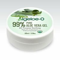 Algeloe-O Organic Aloe Vera Gel 99% Pure Natural 100ml, 200ml, And 500ml