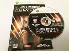 X-Men Origins Wolverine - UK XBOX 360 Disc + Instructions Only VGC Xmen