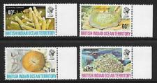 British Indian Ocean Territory 1972 Coral Set (MNH)