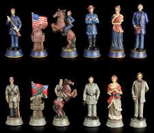 GUERRA CIVILE Pezzi degli scacchi - Civil War - AMERICA SCACCHI USA VERONESE