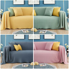 Knitted Sofa Cover Slipcover Sofa Blanket Couch Cover All-Inclusive Protector