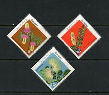 U104  Angola   1983  flora flowers   3v.     MNH