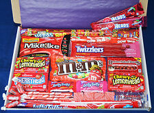 American Sweets Gift Box - Hamper - Birthday Present - USA Candy - M&M's - Wonka