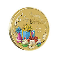 Australia 2019 Happy Birthday $1 Dollar Coloured UNC Coin Carded