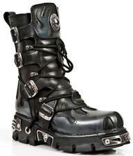 Botas de hombre New Rock color principal negro de piel