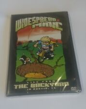 WIDESPREAD PANIC - LIVE FROM THE BACKYARD AUSTIN TX 2 DVD SET New Sealed 2003