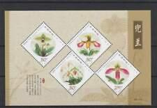China postfris 2001 MNH block 100 - Bloemen / Flowers (S1685)