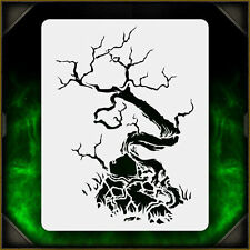 Creepy Tree 3 - Airbrush Stencil Template Airsick Zombies