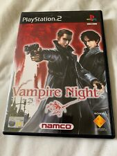 VAMPIRE NIGHT - PLAYSTATION 2 PS2 - Complete - Disc Near mint - Namco