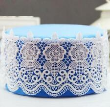 Lace Decorating Mould Sugar Craft Fondant Mat Cake Baking Tool Silicone Mold 6A