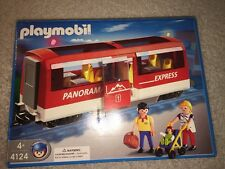 Playmobil 4124 Panorama Express Red & White Train Car Carriage New In Box