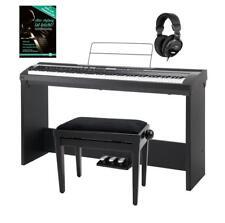 88-TASTEN DIGITAL PIANO USB MIDI LCD DSP AUFNAHME STÄNDER KOPFHÖRER BANK SCHULE