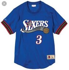 24883167019 Mitchell & Ness Allen Iverson Philadelphia 76ers Men's Jersey Shirt