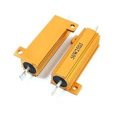 1 Pcs Heatsink Aluminum Housed Case Resistor 50 Watt 25 Ohm Tolerance ± 5%