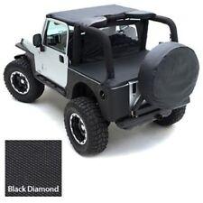 "Smittybilt 773635 Spare Tire Cover X Large Tire (36"" 37""X12.50) Black Diamond"
