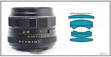 HELIOS 44m-4 2/58 Russian USSR Lens Micro 4/3 MFT Mount Olympus Panasonic Lumix