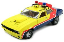 "1/18 GREENLIGHT 1974 FORD FALCON XB V8 POLICE INTERCEPTOR ""MFP"" MAD MAX MOVIE"