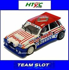 TEAM SLOT RENAULT 5 MAXITURBO #6 FUOYA GERARD ROUSSEL RALLY-CROSS 1987 12107